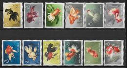 CHINA - 1960 - YVERT N°1328/1345 **/(*) MNH (2 VALEURS SANS GOMME - VOIR DESCRIPTION) - COTE YVERT = 720 EUR - 1949 - ... Volksrepublik
