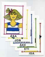 Lot De 11 CP IKEA Dessins Et Prénoms D'enfants - Voir 2 Images - Enfants