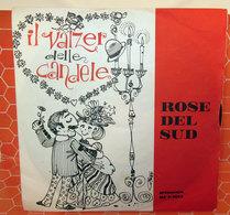 """GINETTO E LA SUA FISARMONICA ROSE DEL SUD - VALZER DELLE CANDELE  7"""" - Country & Folk"""