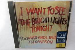 "CD ""Richard & Linda Thompson"" I Want To See The Bright Lights Tonight - Country & Folk"
