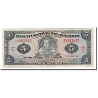 Billet, Équateur, 5 Sucres, 1975-83, 1983-04-20, KM:108b, TB - Equateur