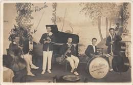D.18-2691 : ORCHESTRE DE JAZZ HAM EDDEY AU CASINO D'AULT CARTE PHOTO DATEE DU 3 AOUT 1925 - Ault