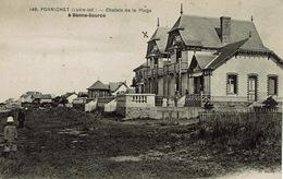 Pornichet (55), Chalets De La Plage à Bonne-Source, Jolie Carte - Pornichet