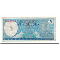 Billet, Surinam, 5 Gulden, 1982, 1982-04-01, KM:125, TB - Surinam