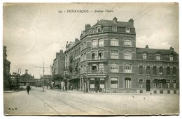 CPA - Carte Postale - France - Dunkerque - Avenue Thiers - 1920 ( SV5739) - Dunkerque