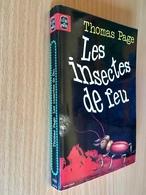 LE LIVRE DE POCHE S.F. N° 7022   LES INSECTES DE FEU   Thomas PAGE   320 PAGES - 1978 - Livre De Poche