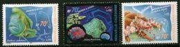 "Nle-Caledonie YT 815 à 817 "" Aquarium Nouméa "" 2000 Neuf** - New Caledonia"
