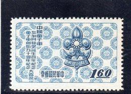 CHINE TAIWAN 1957 SANS GOMME - 1945-... République De Chine