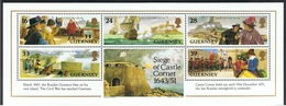 1993 Victory At The Cornet Fort During The Civil War In 1651   Michel Block 10  Postfrisch Xx - Guernsey
