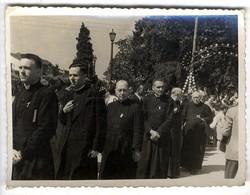 ESPAGNE SAINT JACQUES DE COMPOSTELLE 1954  -  CARDINAL FELTIN MSGEUR MARTIN  -  PHOTO - Santiago De Compostela