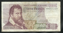 UN BILLET DE BANQUE DE BELGIQUE DE 100 FRANCS DU 09 -12 - 69 - [ 2] 1831-... : Belgian Kingdom