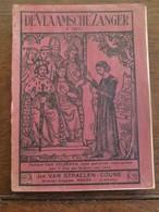 De Vlaamsche  Zanger  5 Deel    Drukker-  Uitgever   HEERS  Limburg  1933 - Culture