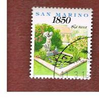 SAN MARINO - UNIF. 1416  - 1994   COSE DI OGNI GIORNO: LA VASCA   -  USATI (USED°) - San Marino