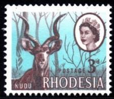 Rhodesia - 1968 Mardon 3d Kudu (1st Printing) (**) # SG 399 , Mi 48 - Rhodésie (1964-1980)