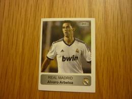 Alvaro Arbeloa Real Madrid Spanish Football Europe's Champions 2013-2014 Greek Sticker - Adesivi