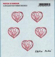 F648 - FRANCE Feuillet Autoadhésifs Saint-Valentin Patch D'amour De Adeline André - Mint/Hinged