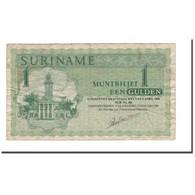Billet, Surinam, 1 Gulden, 1961-1986, 1984-01-02, KM:116g, B+ - Surinam