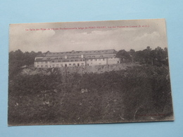 La Salle De Fêtes De L'ecole Professionnelle Belge De PORT-VILLEZ ( Lavergne ) Anno 19?? ( Voir Photo Svp ) - Mantes La Jolie