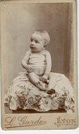 Cdv Carte De Visite L GARDE LYON Bébé Baby Nu Nude - Fotos