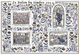 BF 135 - FRANCE Salon Du Timbre 2014 Les Grandes Heures De L'Histoire De France - Sheetlets
