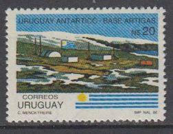 Uruguay 1986 Antarctic Base Artigar 1v ** Mnh (40780D) - Uruguay