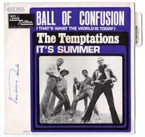 The TEMPTATIONS : BALL OF CONFUSION - TAMLA MOTOWN - FRANCE - Avec Languette - Soul - R&B