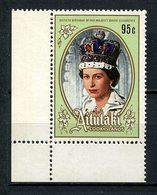 AITUTAKI 1986 N° 438 ** Neuf MNH Superbe C 2,50 € Reine Elizabeth Anniversaire - Aitutaki
