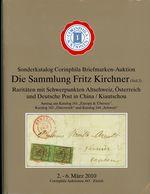 Die Sammlung Fritz Kirchner Teil 2 - Gebundener Sonderkatalog Zur 164. Corinphila Auktion 2010 - Catalogues For Auction Houses