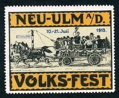 CINDERELLA : NEU-ULM VOLKS-FEST 1913 - Cinderellas