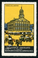 CINDERELLA : SPARROW CHOCOLATES - FANEUIL HALL, BOSTON - Cinderellas