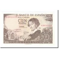 Billet, Espagne, 100 Pesetas, 1970, 1965-11-19, KM:150, SPL - [ 2] 1931-1936 : Repubblica