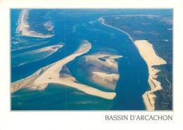 GIRONDE BASSIN D'ARCACHON  AVEC LE BANC D'ARGUIN A MAREE BASSE(scan Recto-verso) KEVREN0505 - Arcachon