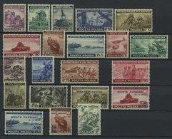 POLEN 360-A379 **, 1941-45, Polnische Exil-Regierung In London, 21 Werte Komplett, Pracht, Mi. 192.- - Poland