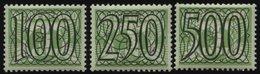 NIEDERLANDE 372-74 *, 1940, 100-500 C. Fliegende Taube, Falzrest, 3 Prachtwerte - Nederland