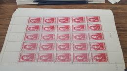 LOT 416328 TIMBRE DE FRANCE NEUF**  LUXE N°612 VALEUR 60 EUROS BLOC - Feuilles Complètes