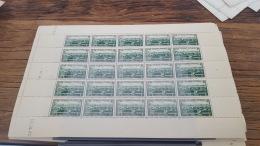 LOT 416340 TIMBRE DE FRANCE NEUF**  LUXE N°469 VALEUR 150 EUROS BLOC - Feuilles Complètes