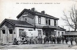 Gare  - 51 Dormans Bataille De La Marne - Gares - Sans Trains