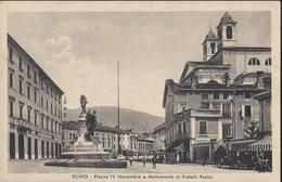 Schio - Piazza IV Novembre E Monumento Ai Fratelli Pasini - Vicenza - HP1412 - Vicenza
