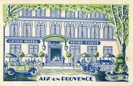 AIX-EN-PROVENCE GRAND HOTEL NEGRE-COSTE ILLUSTRATEUR 13 - Aix En Provence