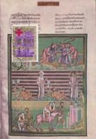 Spain1963 Maxicard Scott #1195 1p Centenary International Red Cross - Cartes Maximum