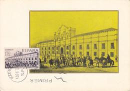 Spain1969 Maxicard Scott #1586 1.50p Procession Outside Casa De La Moneda, Chile - Cartes Maximum