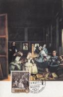 Spain1959 Maxicard Scott #896 60c The Little Princesses By Velazquez - Cartes Maximum