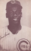 Ernie Banks Chicago Cubs MLB Baseball Short-stop And 1st Baseman, Novelty Arcade Card - Baseball