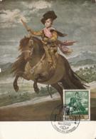 Spain1959 Maxicard Scott #897 70c Prince Balthazar (on Horseback) By Velazquez - Cartes Maximum