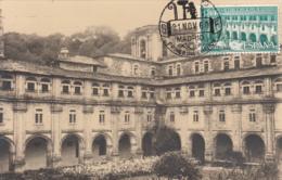 Spain1960 Maxicard Scott #965 80c Courtyard Samos Monastery - Cartes Maximum