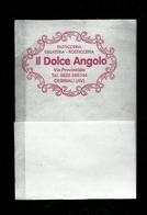 Tovagliolino Da Caffè - Pasticceria Il Dolce Angolo - Serviettes Publicitaires