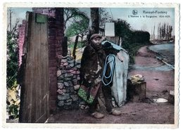 Charlerois - Ransart Fonteny - L'homme è La Baignoire - Charleroi