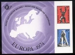 1974  EUROPA  Feuillet De Luxe  Tirage De 1000 Ex Seulement  Coté 100,-Euros - Libretti Di Lusso
