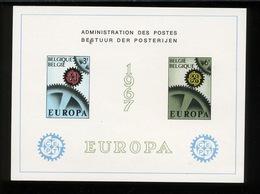 1967  EUROPA  Feuillet De Luxe  Tirage De 1000 Ex Seulement  Coté 100,-Euros - Libretti Di Lusso