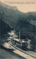H149 - De Grenoble à Villard-de-Lans - Isère - Forêt Des Mures - La Route Et Le Chemin De Fer électrique - Autres Communes
